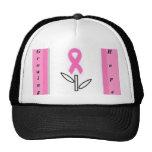 Pink Ribbon Growing Hope Black Hat 2