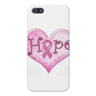 Pink Ribbon Hope Breast cancer awareness Cover For iPhone SE/5/5s