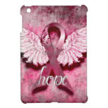 Pink Ribbon Hope by Vetro Designs Cover For The iPad Mini
