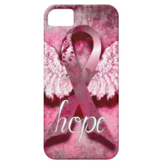Pink Ribbon Hope by Vetro Designs iPhone SE/5/5s Case