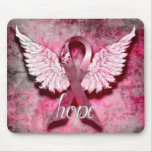 Pink Ribbon Hope by Vetro Designs Mouse Pad
