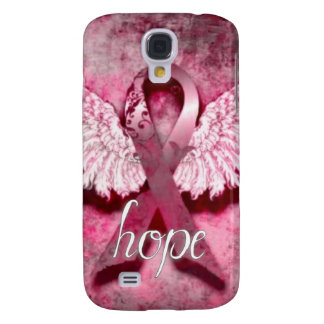 Pink Ribbon Hope by Vetro Designs Samsung Galaxy S4 Cover