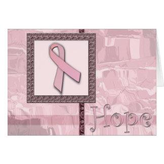 Pink Ribbon - Hope Card