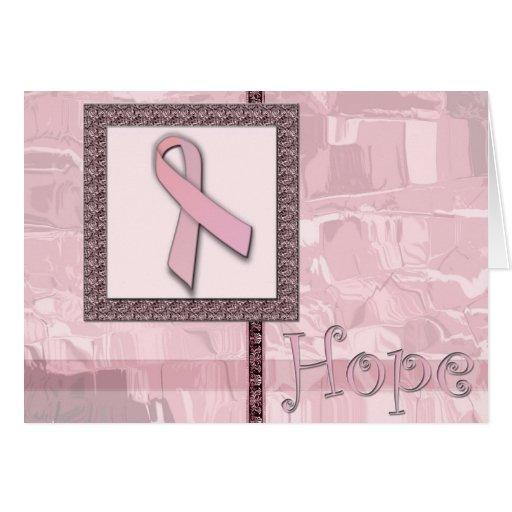 Pink Ribbon - Hope Cards