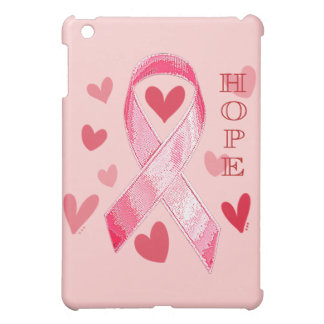 PINK RIBBON HOPE iPad MINI COVERS
