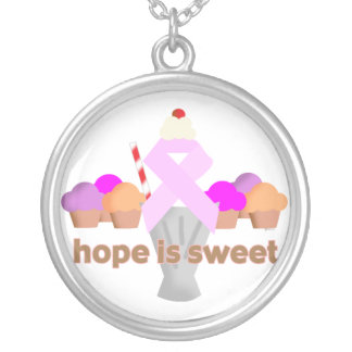 Pink Ribbon Hope Necklace