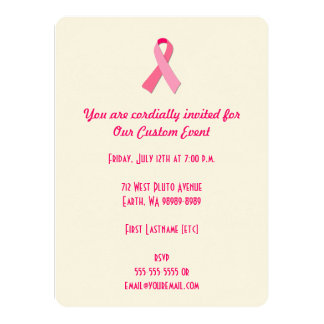 Pink Ribbon Announcements