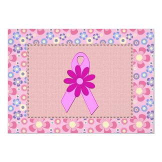 Pink Ribbon Invitations