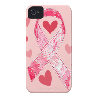 PINK RIBBON iPhone 4 Case-Mate Case