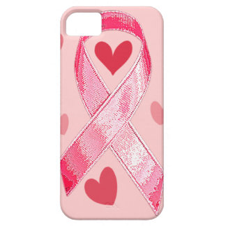 PINK RIBBON iPhone 5 Case-Mate Case