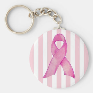 Pink Ribbon Key Chains