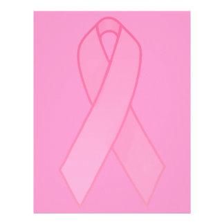 Pink Ribbon Letterhead