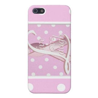 Pink Ribbon Live Love Laugh iPad Case4 iPhone 5 Case
