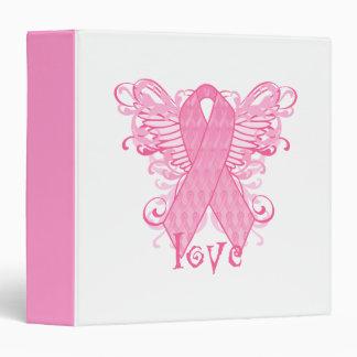 Pink Ribbon Love Binder
