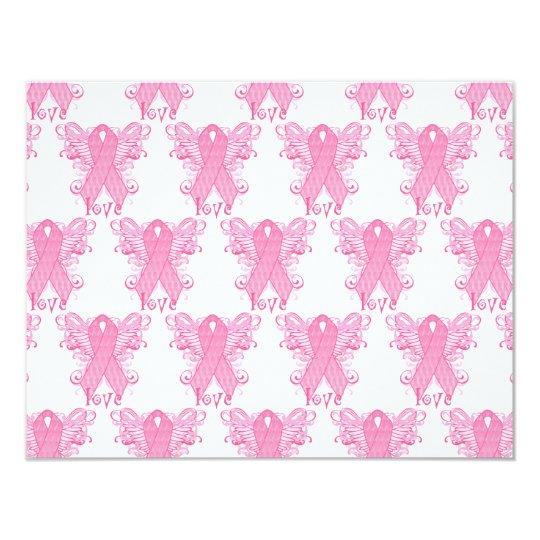 Pink Ribbon Love Card
