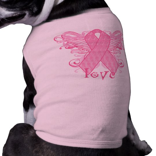 Pink Ribbon Love T-Shirt