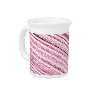 Pink Ribbon Macro Drink Pitchers