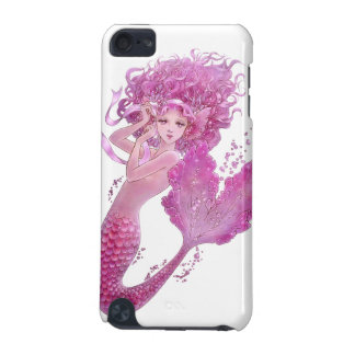 Pink Ribbon Mermaid  iPod Touch (5th Generation) Covers
