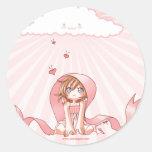 Pink Ribbon of Hope Sticker
