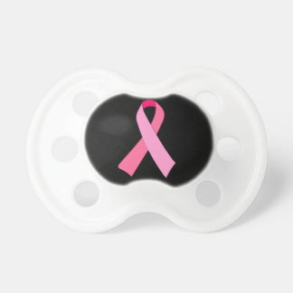 Pink Ribbon Baby Pacifiers