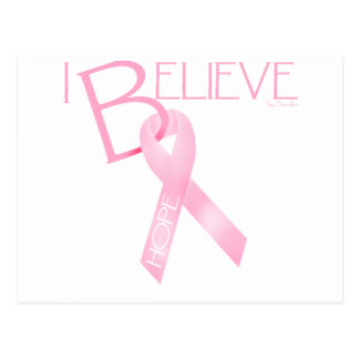 Pink Ribbon Post Cards