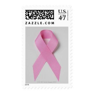 Pink ribbon postage