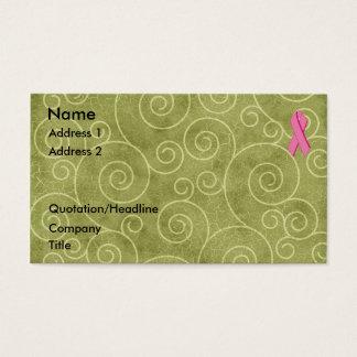 Pink Ribbon Profile Card U Customize