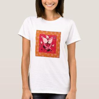 Pink Ribbon & Roses: Breast Cancer Awareness T T-Shirt