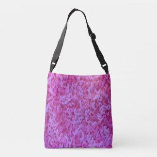 Pink Ribbon Sprinkle Crossbody Bag