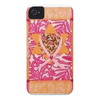 Pink Ribbon Star of David Blackberry Case