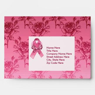 Pink Ribbon Survivor Envelope