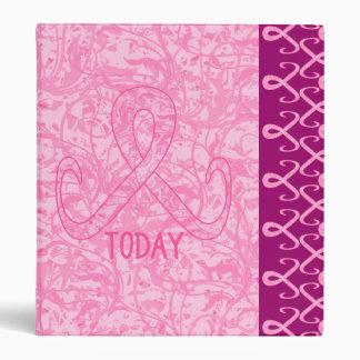 Pink Ribbon Today Vinyl Binder