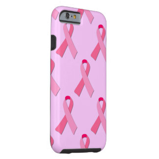 Pink Ribbon Tough iPhone 6 Case