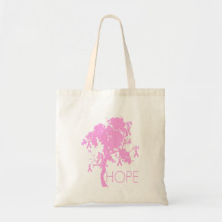 Pink Ribbon Tree of Hope Tote Bag