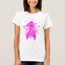 Pink Ribbon Vintage T-Shirt