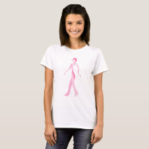 Pink Ribbon Walker T-Shirt