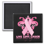 Pink Ribbons Every Day Refrigerator Magnet