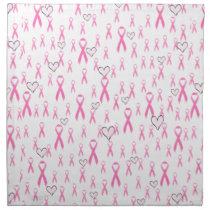 Pink Ribbons,I Care!_ Napkin