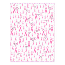 Pink Ribbons,I Care!_ Postcard