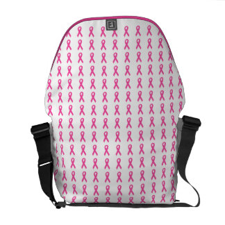 Pink Ribbons Messenger Bag