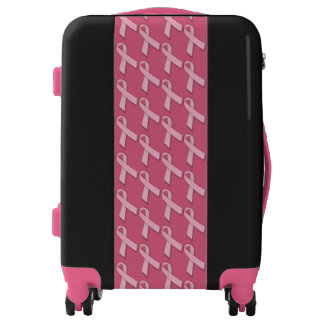 Pink Ribbons Of Hope Luggage