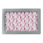 PINK RIBBONS PATTERN BELT BUCKLES