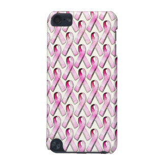 PINK RIBBONS PATTERN iPod TOUCH (5TH GENERATION) CASE