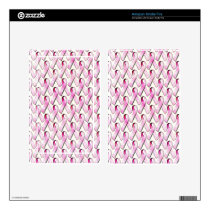 PINK RIBBONS PATTERN SKIN FOR KINDLE FIRE