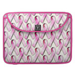 PINK RIBBONS PATTERN SLEEVE FOR MacBooks