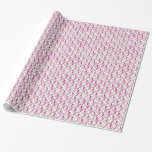 PINK RIBBONS PATTERN WRAPPING PAPER
