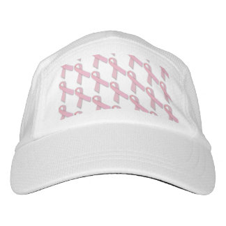 Pink Ribbons Tiled Pattern Hat