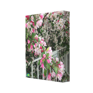 pink riot canvas print