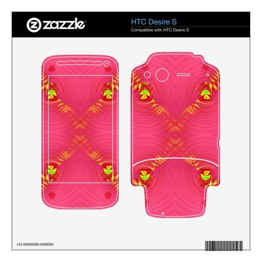 pink ripple 2 HTC desire s skins