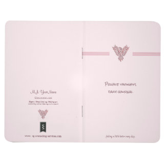 Pink rising phoenix counseling service client journal